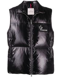 Moncler Chaleco Banker - Negro