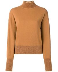 Alberta Ferretti - Mock Neck Sweater - Lyst
