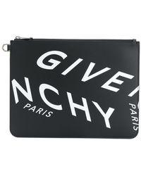 Givenchy - Клатч С Логотипом - Lyst