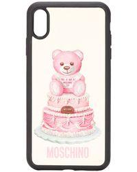 Moschino - テディベア Iphone Xs Max ケース - Lyst