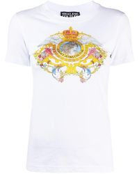 Versace Jeans Couture バロッコプリント Tシャツ - ホワイト