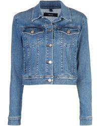 J Brand Harlow Denim Jacket - Blue