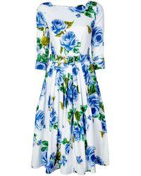 Samantha Sung Florance ドレス - ブルー