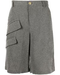 Jacquemus Knee-length Cargo Shorts - Grey