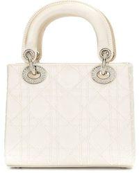 Dior - Borsa Lady Dior Cannage 2way Pre-owned - Lyst