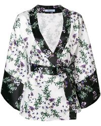 Blumarine - Kimono Blouse - Lyst