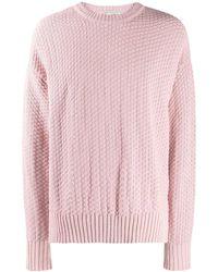 AMI - Sweater Met Ronde Hals - Lyst