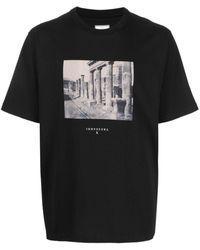 Trussardi - フォトプリント Tシャツ - Lyst