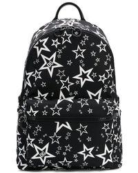 Dolce & Gabbana スタープリント バックパック - ブラック