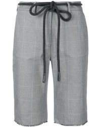 Off-White c/o Virgil Abloh - Checked Cycling Shorts - Lyst