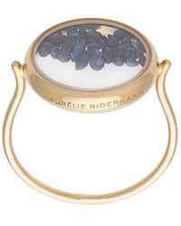 Aurelie Bidermann - Chivor Ring With Sapphires - Lyst