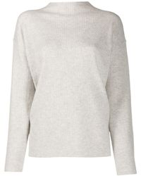 Calvin Klein モックネック セーター - グレー