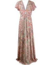 Etro - ペイズリー ドレス - Lyst