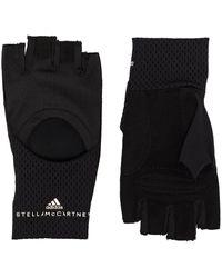 adidas By Stella McCartney Cut-out Training Gloves - Black