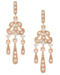 V Jewellery - Lorelei Earrings - Lyst
