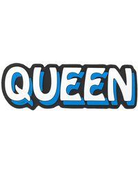 Dolce & Gabbana Patch Queen - Bleu