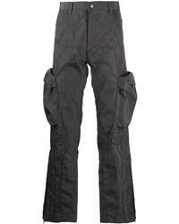 Formy Studio Pantalon à poches cargo - Gris