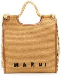 Marni Marcel North/south Draagtas - Bruin