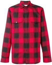 Calvin Klein - Checked Shirt - Lyst