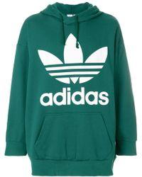 Adidas | Trefoil Hoodie | Lyst