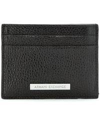 Armani Exchange カードケース - ブラック