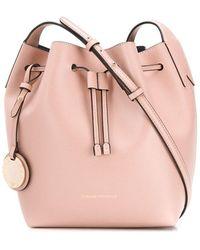 Emporio Armani Drawstring Bucket Bag - Pink