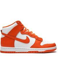 Nike Кроссовки Dunk High Syracuse - Белый