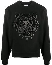 KENZO タイガー スウェットシャツ - ブラック