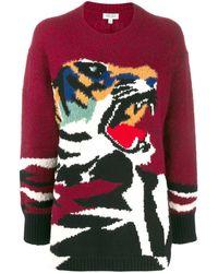 KENZO タイガーセーター - レッド