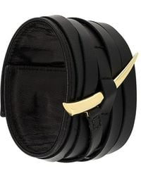 Shaun Leane 18kt Yellow Gold 'sabre' Cuff - Black