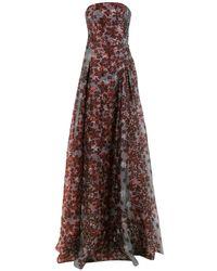 Tufi Duek Sleevless Party Dress - ブラウン
