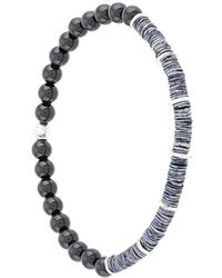 Tateossian Abyss Bracelet - Metallic