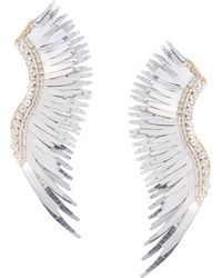 Mignonne Gavigan Oversized Cuff Earrings - Gray