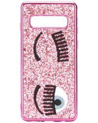 Chiara Ferragni 'Flirting' Samsung S10-Hülle - Pink