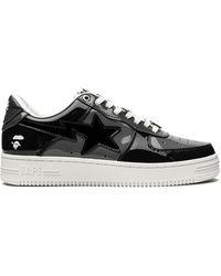 A Bathing Ape Bape Sta Sneakers - Black