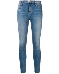 J Brand Faded Slim Fit Jeans - ブルー