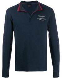 Hackett Aston Martin Racing スウェットシャツ - ブルー