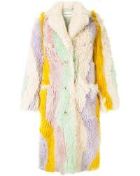 Sandy Liang Manteau Patch - Multicolore