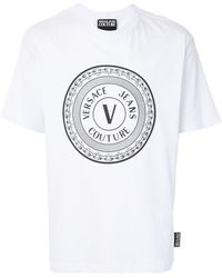 Versace Jeans Couture Футболка С Логотипом - Белый