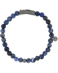 Tateossian Beaded Bracelet - Blue