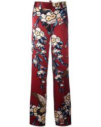 DSquared² Pantalon à imprimé Blossom - Noir