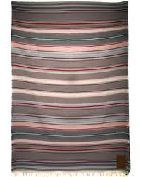 Loewe Striped Beach Towel - Blue