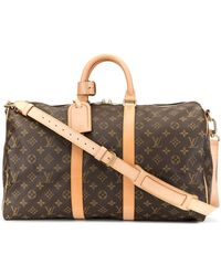 Louis Vuitton Sac de voyage Keepall Bandouliere 45 - Marron