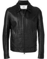 AMI Jacke mit Reißverschluss - Schwarz