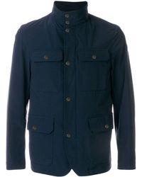 Moncler Field Jacket - Blue