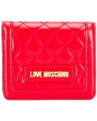 Love Moschino - Quilted Wallet - Lyst