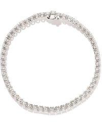 AS29 ダイヤモンド ブレスレット 18kホワイトゴールド - マルチカラー