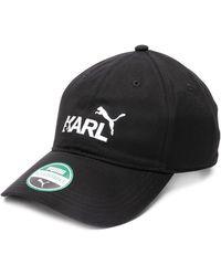 Karl Lagerfeld X Puma Cap - Black