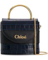 Chloé Any Kleine Tas - Blauw