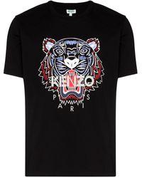 KENZO T-shirt Met Logo - Zwart